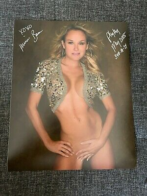 MICHELLE BAENA PLAYBOY COVER MODEL AUTOGRAPH 8X10 PHOTO & SIGNED TO YOU