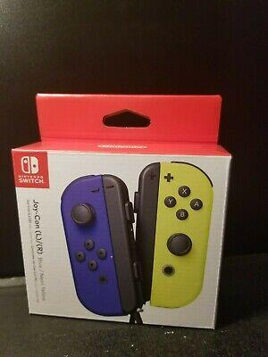 Nintendo Blue/ Neon Yellow Joy-Con (L-R) -Nintendo Switch Brand New Sealed