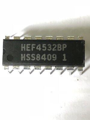 23 x NXP Semiconductors HEF4532BP4000/14000/40000 SERIES, 8-BIT ENCODER, PD