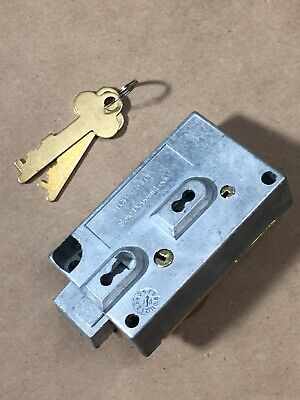 Diebold 175-70 Changeable Lever Safe Deposit Lock - Left Hand