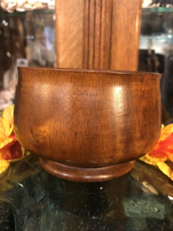 Hawaiian Koa Bowl Pedestal