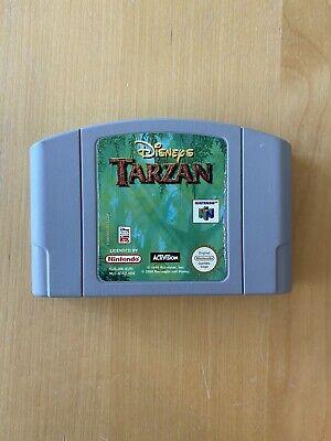 Disney's Tarzan Modul Cartridge N64 Nintendo 64 Sammlung Lot Top Condition Pal