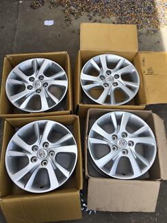 Toyota 16inch wheels. Newborough Latrobe Valley Preview