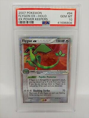 Pokemon ex Power Keepers Flygon ex 94 - PSA 10