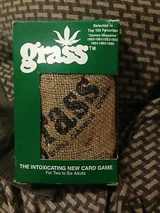 Grass the intoxicating card game vintage