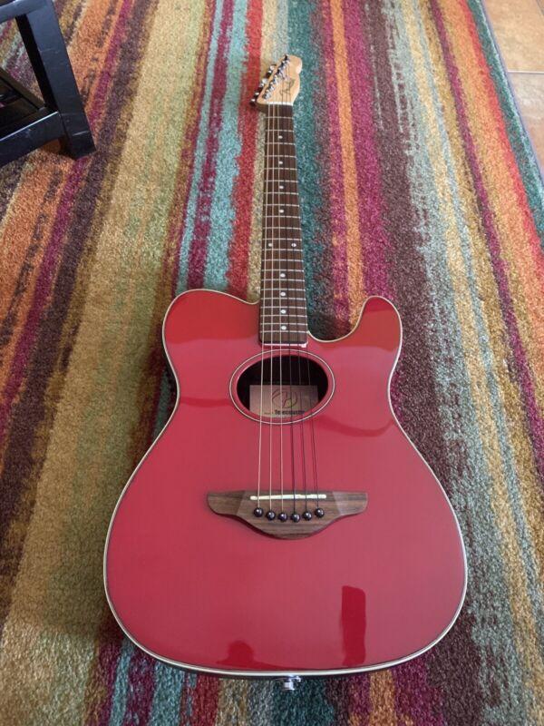 Fender Telecoustic Acoustic Electric Guitar