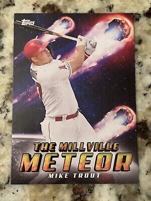 2020 Topps Archives MIKE TROUT #303 Nickname SP Millville Meteor