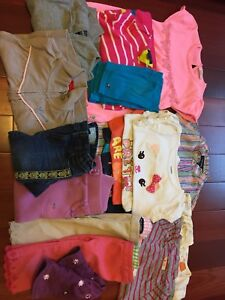 Lot of 2T Baby Girl Clothing
