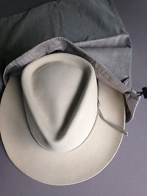 Silk Vintage Fedora Hat Travel Storage Sack