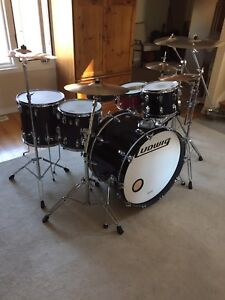 LUDWIG CLASSIC MAPLE / w CYMBALS & HARDWARE