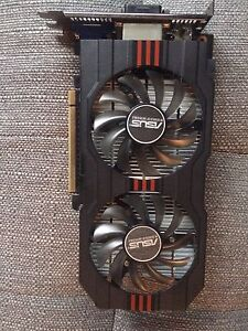 Asus nvidia 750ti 2gb video card - mint condition