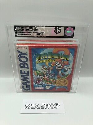 Nintendo - VGA - Gameboy Classic - Super Mario Land 2 -...