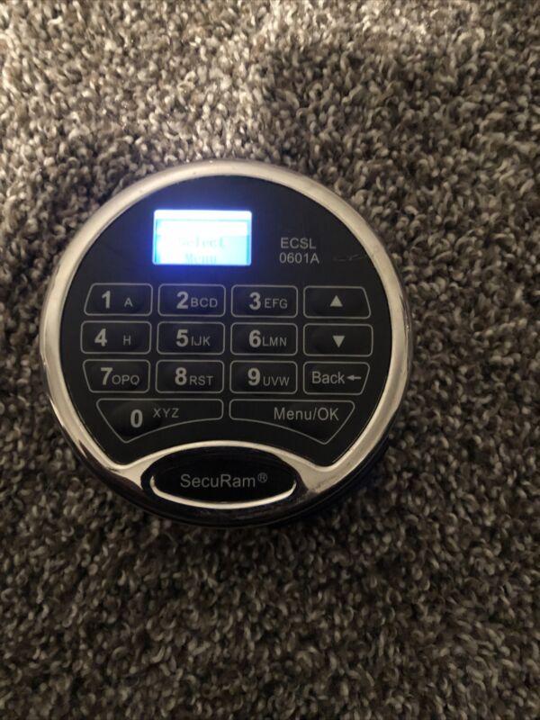 SecuRam Safelogic High Security Electronic Safe Lock Type 1. ECSL-0601A Keypad