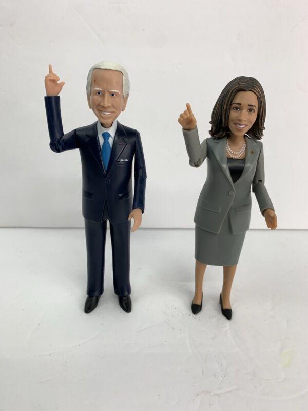 "Joe Biden + Kamala Harris Action Figures 6"" Ships Free"