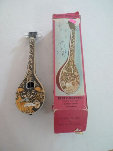 GREEK BOUZOUKI -SOUVENIR -MUSICAL  INSTRUMENT- NEVER ON SUNDAY MUSIC-VINTAGE