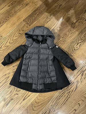 moncler kids hooded coat size 8yr EUC