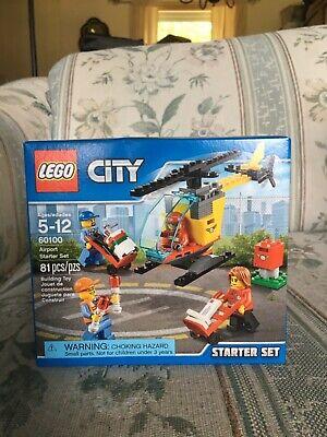 Lego 60100 Airport Starter Set 81 pcs