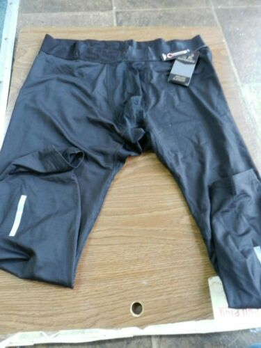 XL RUSSELL Athletic Compression Tights NEW Dri-Power Black Base Layer Spandex