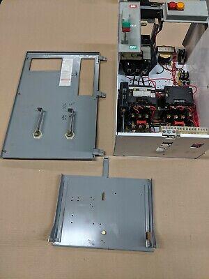 Square D Model 6 50 Amp Size 2 Reversing Motor Starter Bucket Breaker Style Mccb