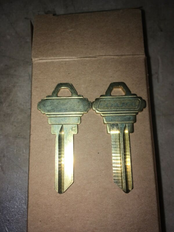 Schlage Manufacturing 35-100 C 5-Pin Blank Keys (Box Of 50)