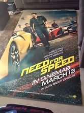 Gigantic Need For Speed movie poster Port Macquarie Port Macquarie City Preview