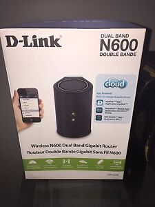 D-Link router N600 dual band