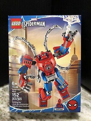 LEGO 76146 Marvel Universe Spider-Man Mech 152 pcs set to battle Venom!