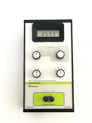 Transmation 1064  Thermometer Calibrator Simulator Guaranteed Calibrated