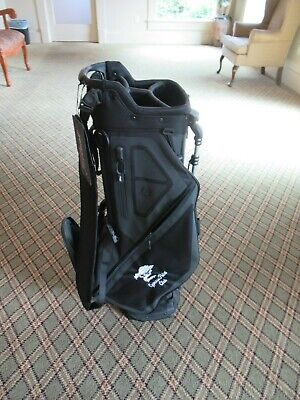WOW!!! NEW TITLEIST PLAYERS 4 CYRPESS POINT LOGO STAND BAG BLACK FREE SHIPPING