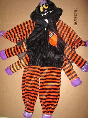 Boys Girls plush SPIDER W/ SOUND Halloween Costume sz 38