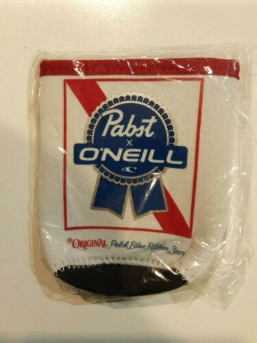 PABST X ONEILL BLUE RIBBON BEER CAN COOZIE