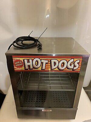 Hot Dog Steamer Bun Warmer Concession Stand Hot Dog Warmer