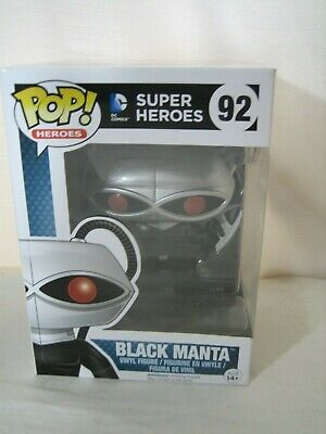 FUNKO POP BLACK MANTA #92 FIGURE AQUAMAN DC COMIC SUPER HEROES