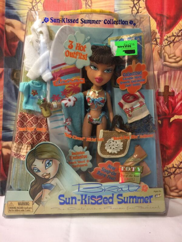Bratz Sun-Kissed Summer: Dana Doll with 3 Hot outfits. Collectible from 2004