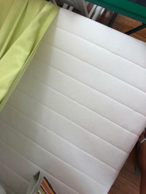 67740107e122 IKEA GRIMSBU Single Bed frame and mattress