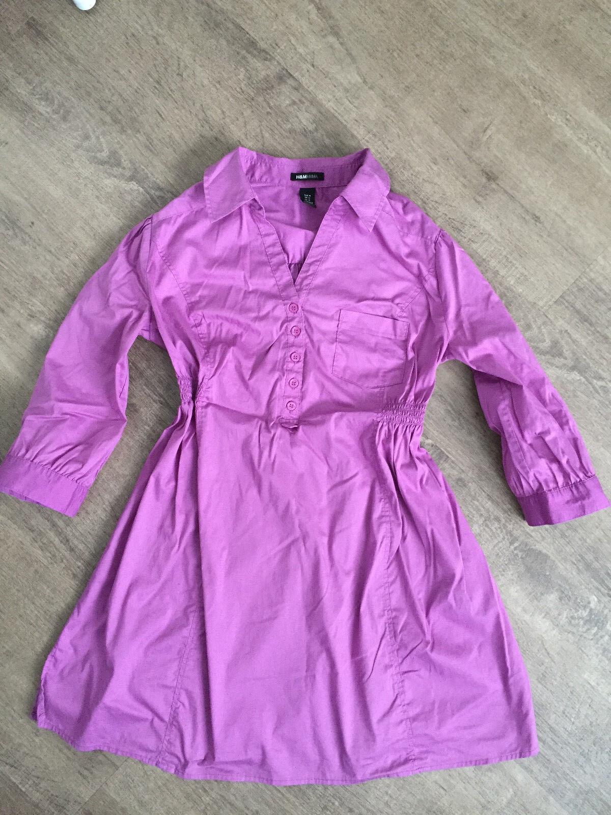"Schwangerschaftskleidung Longbluse/Kleid  Pink Gr. 36 ""H&M"""