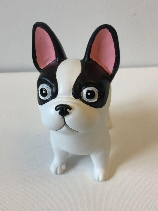 French Bulldog Figurine Black And White
