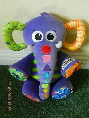 Lamaze Eddie The Elephant Tunes Plush Stuffed Animal Baby Infant Developmental