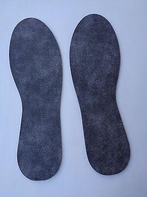 uch 2 Paar Schuh Sohlen Gr.24-46 Schneidbar Schuheinlage    (Schneiden Paar)