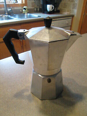Vintage Junior Expresso Maker Stove Pot Made In Italy