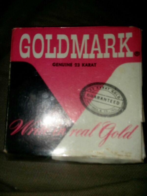 Hastings & Co. GOLDMARK GENUINE 23 KARAT Write In Real Gold 8Ft Roll NOS