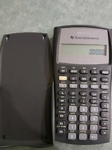 Texas Instruments Calculator BAII Plus Canning Vale Canning Area Preview
