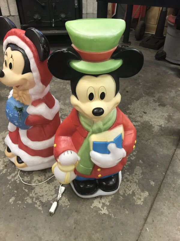Vintage Blow Mold Mickey