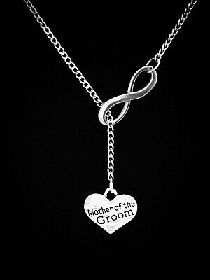Mother Of The Groom Necklace Gift Wedding Party Bridal Y Lariat Style Necklace](Mother Of Groom Gift)