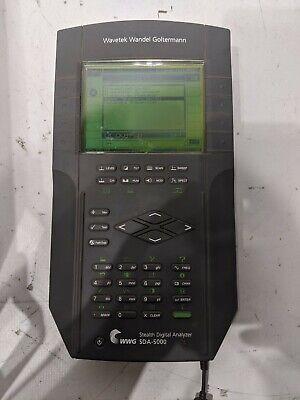 Wavetek Wwg Jdsu Stealth Digital Analyzer Sda-5000 Reverse Sweep Pathtrak Field