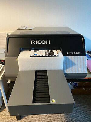 Dtg New Ricoh Anajet Ri1000 Printer Pretreatment Spray Extra Small Pate In