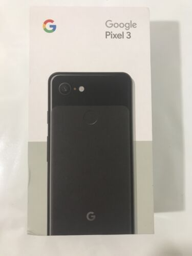 Google - Pixel 3 with 64GB Memory Cell Phone (Unlocked) - Just Black 64 GB