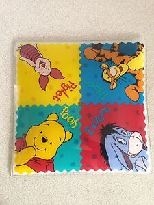 Vintage Disney Winnie The Pooh Glass Ceiling Light Shade