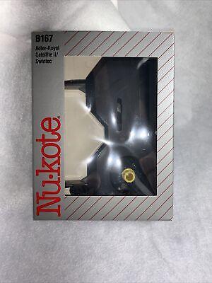 Nukote B167 Typewriter Ribbon For Adler Royal Satellite Ii Swintec