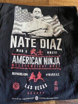 Represent Nate Diaz American Ninja Shirt